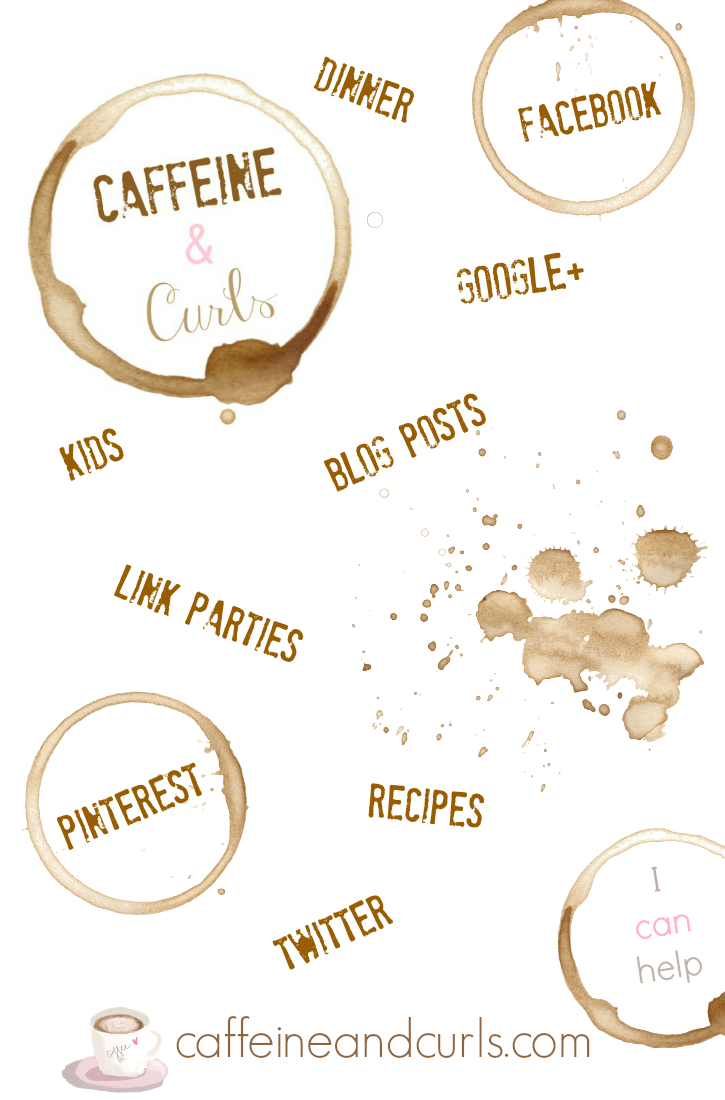 Caffeine and Curls Graphic | caffeineandcurls.com
